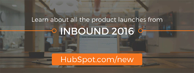 Product Launches INBOUND 2016
