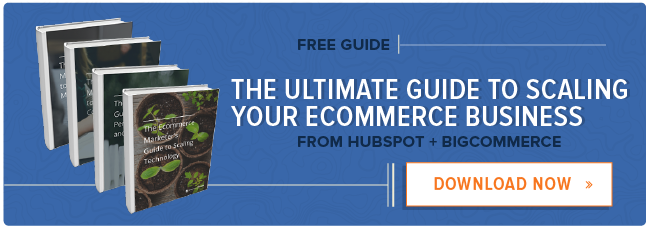 get a free HubSpot trial for ecommerce