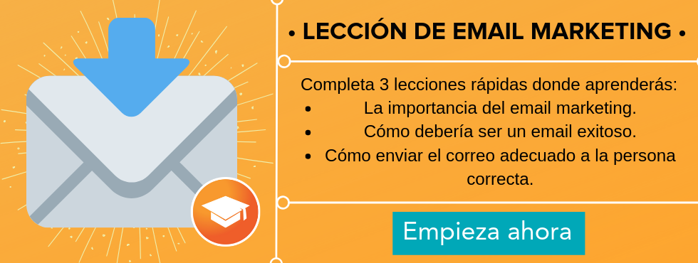 email marketing leccion hubspot