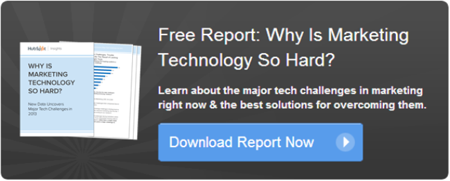 download free marketing technology report