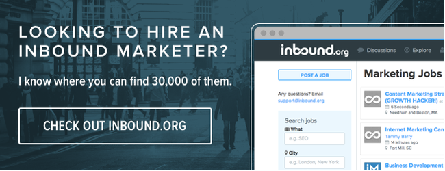 Check out Inbound.org!
