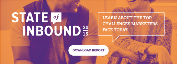 download the free 2015 state of inbound report
