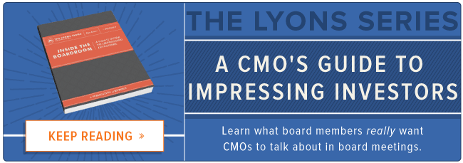 Blog - Inside the Board Room: What Investors Want From CMOs [List-Based]
