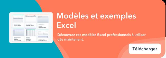 Bottom-CTA : Modèles et exemples Excel