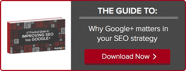 Improve SEO with G+