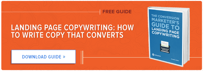 free guide to landing page copywriting