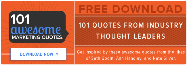 download 101 awesome marketing quotes