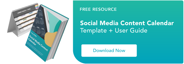 The social media content calendar template every marketer needs learn more about hubspot classroom training free social media content calendar template pronofoot35fo Gallery
