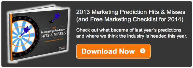 marketing predictions 2013 seo social email content