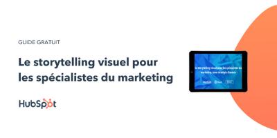 Le storytelling visuel pour les spécialistes du marketing