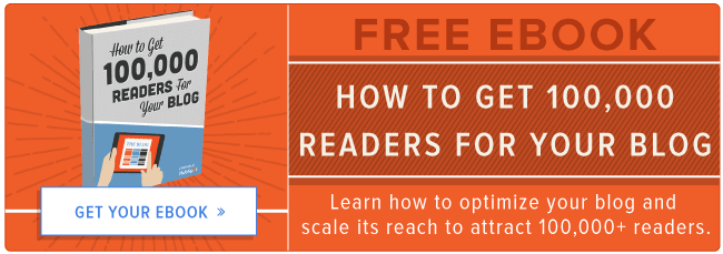 how to get 100K blog readers