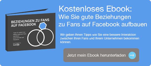 Ebook Wie Sie eine gute Beziehung zu Fans auf Facebook erhalten
