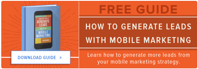 mobile marketing lead generation roi guide