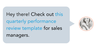 Sales Rep Performance Template