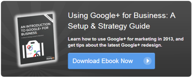 google+ for business ebook 2013