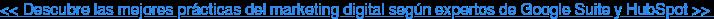 << Descubre las mejores prácticas del marketing digital según expertos de  Google Suite y HubSpot >>