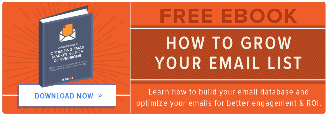 free ebook: how to grow your email list
