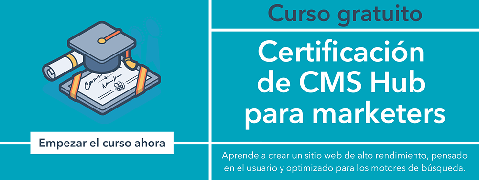 CMS Hub Certification