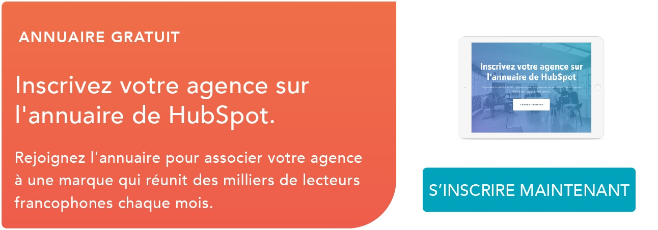 Annuaire Agence HubSpot