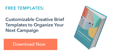 creative brief templates