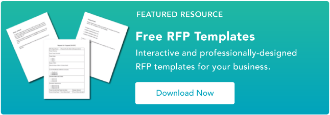 To use some of these elements in your own RFQ, start with a RFQ template and adjust it to your liking.