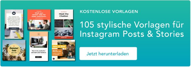 Instagram Templates zum Download