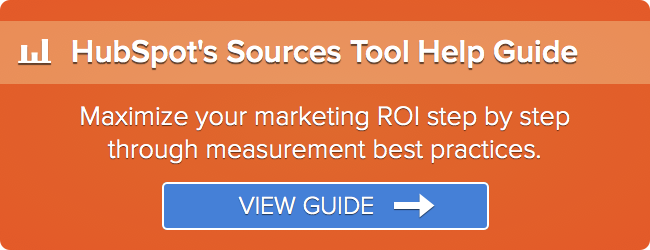 HubSpot's Sources Tool Help Guide : Learn More