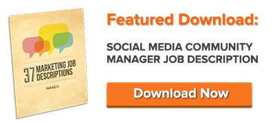 download social media manager job description