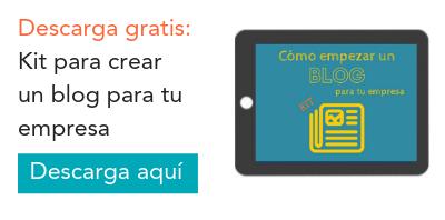Blogging para empresas