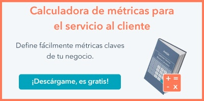 Métricas Servicio al Cliente