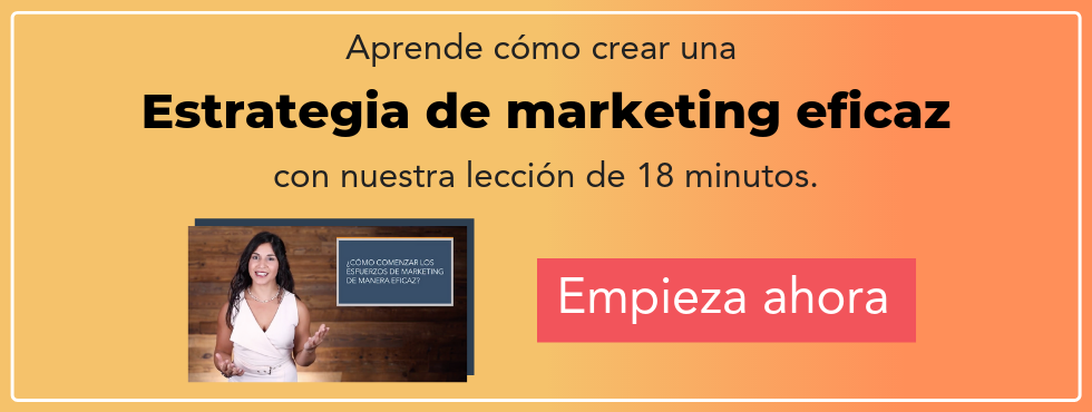 estrategia de marketing eficaz