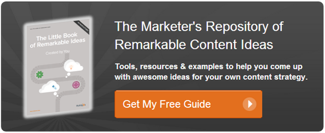 get your remarkable content ideas guide