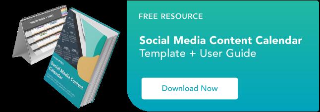free social media benchmarks report