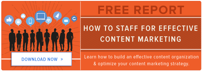 how to staff for content marketing