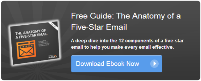anatomy of a five-star email ebook