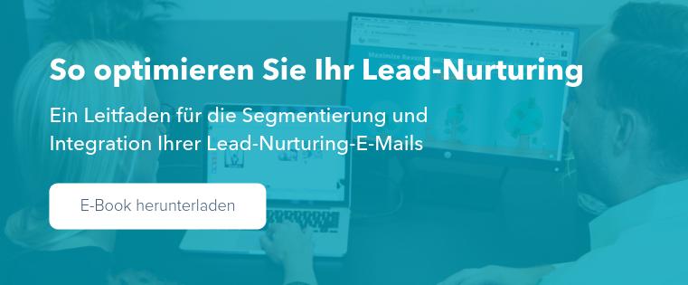 E-Book herunterladen: So optimieren Sie Ihr Lead-Nurturing