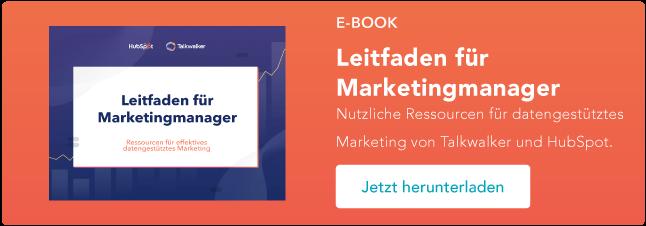 guide für marketingmanager datengestützes marketing