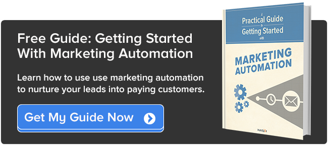 get started marketing automation