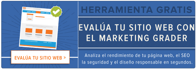Herramienta Marketing Grader