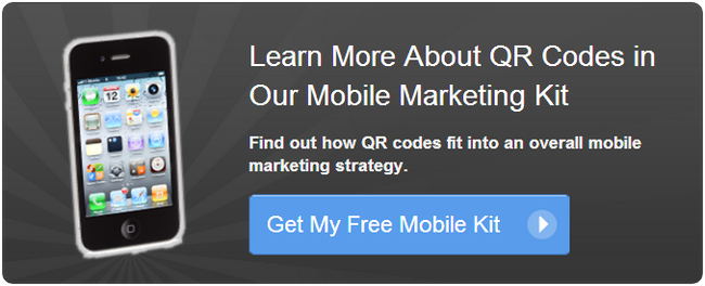 get your free mobile marketing kit