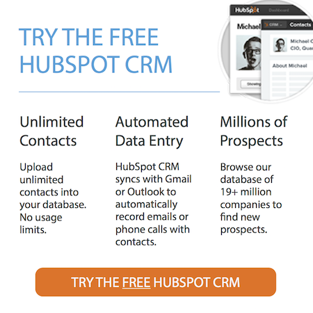 Sign-up-HubSpot-CRM