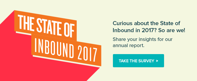 The State of Inbound 2017 Survey