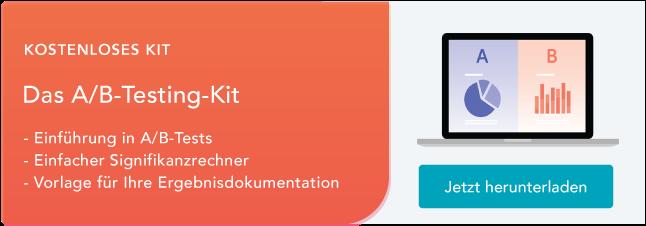 a/b testing kit
