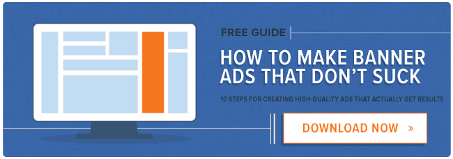 free ebook: how to make banner ads that don't suck