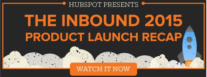 check out the new HubSpot products from INBOUND15