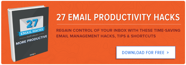 free email productivity tips