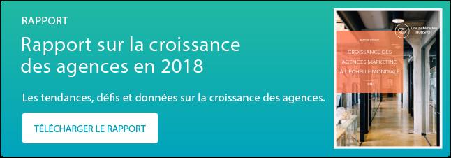 Rapport sur la croissance des agences en 2018