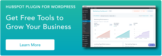 Wordpress Plugin HubSpot