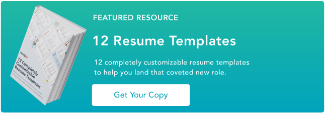 10 free marketing resume templates