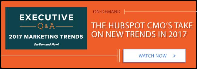 Free Executive Webinar 2017 Trends